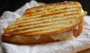 Grilled cheese prêt à être dégusté