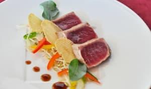 Mi-cuit de thon rouge