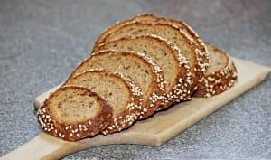 Tranches de pains aux graines
