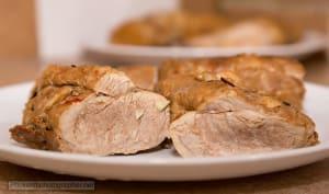 Palette de porc rôtie