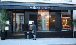 Devanture du restaurant Hélène Darroze