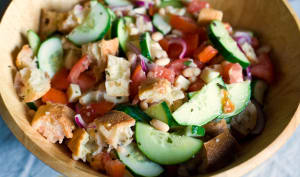 Salade italienne panzanella