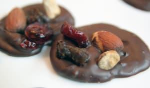 Mendiants aux chocolat
