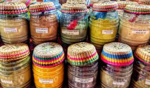 Vente d'épices mexicaines