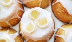 Mini gâteaux au citron