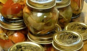 Condiments en conserves