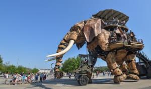 Eléphant mécanique de la ville de Nantes