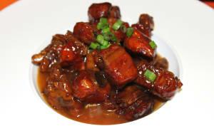 Plat Chinois avec sauce aigre-douce