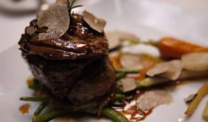 Tournedos Rossini avec truffes et sauce Madère