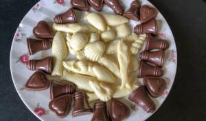 Friture de Pâques sur assiette