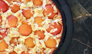 Gâteau aux abricots et amandes