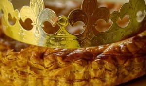 Galette avec couronne