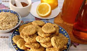 Biscuits végétaliens au citron