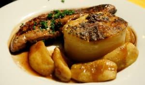 Foie de veau aux pommes