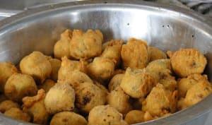 Beignets d'oignons indiens