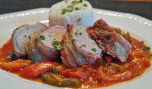 Filet de porc, sauce au paprika