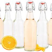 bouteilles en verre hermétiques