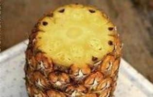 Préparer un ananas frais - Etape 3