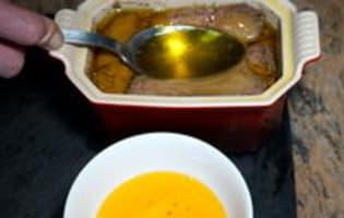 Terrine de foie gras à l'anguille fumée - Etape 9