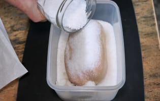 Foie gras au sel - Etape 6