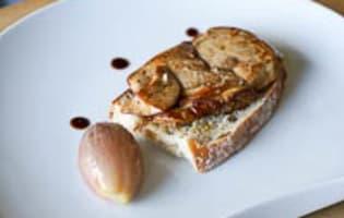Foie gras à la plancha - Etape 8