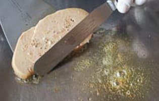 Escalopes de foie gras frais poêlées - Etape 9