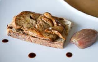Escalopes de foie gras frais poêlées - Etape 12