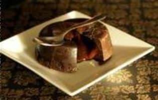 Fondant au chocolat - Etape 11