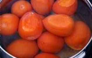 Monder une tomate - Etape 3