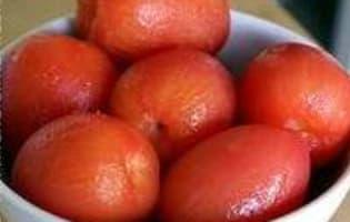 Monder une tomate - Etape 7