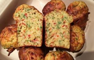 Muffins au bacon et au fromage - Etape 11