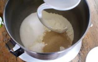 Pains au lait - Etape 1