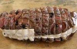 Rôti de boeuf mariné - Etape 6