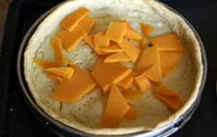 Tarte poireaux mimolette - Etape 10