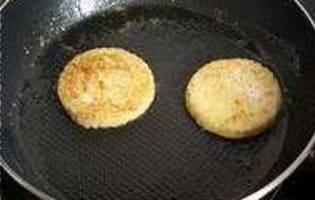 Filets de rougets sur canapés - Etape 4