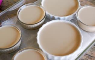 Crème brûlée au carambar - Etape 8