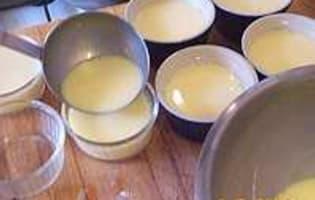 Crèmes au fenouil et anis étoilé - Etape 6