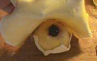 Douillon de poires à la gelée de cassis - Etape 5