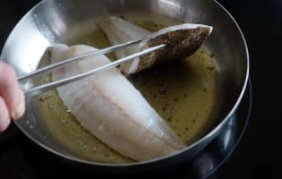 Filets de turbot sautés - Etape 3