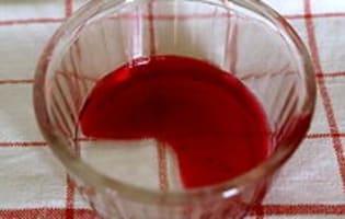Gelée et sirop de groseilles et cassis - Etape 7