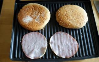 Hamburgers - Etape 4