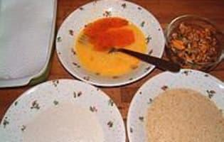 Moules et huitres frites - Etape 3