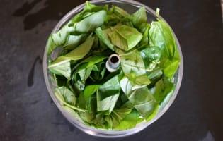 Pesto rouge et pesto vert - Etape 3