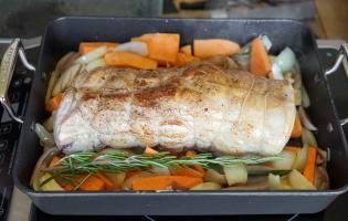 Rôti de porc - Etape 9