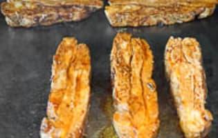 Tendrons de veau laqués à la plancha - Etape 12