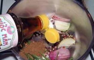 Beignets d'escargots façon asiatique - Etape 2