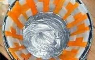 Chartreuse de poule faisane : la mise en place - Etape 8