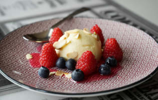 Crème bavaroise - Etape 16