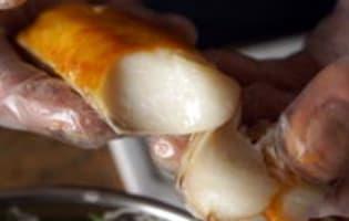 Filet de haddock poché au lait - Etape 10