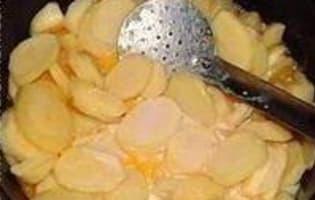 Gratin de pommes de terre à l'ancienne - Etape 5